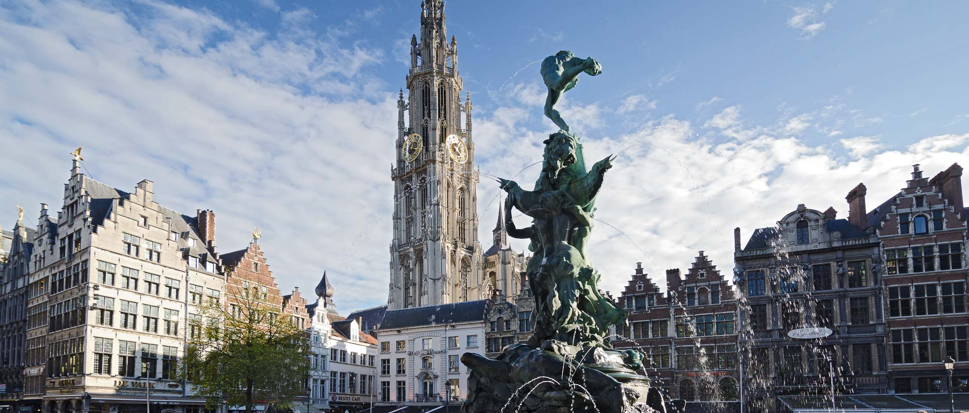 Square in Antwerp