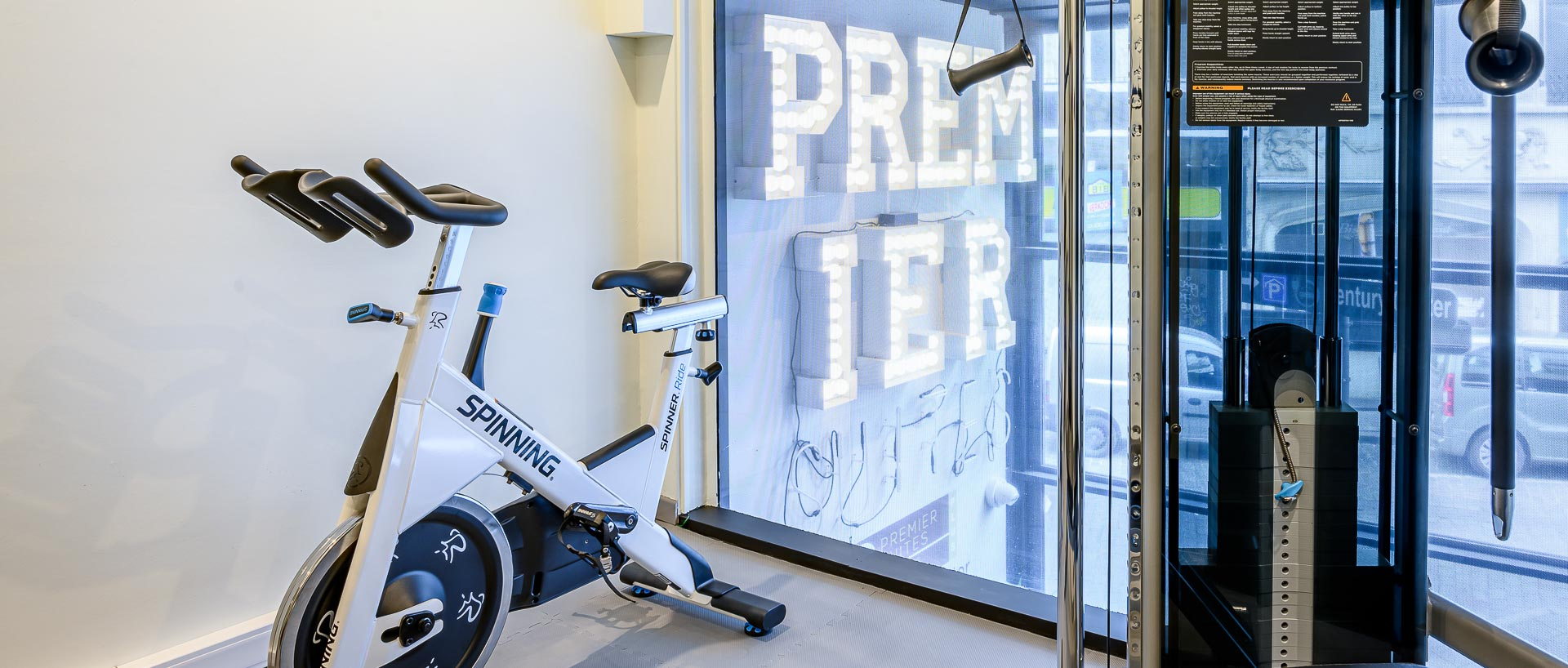 Home trainer at PREMIER SUITES PLUS Antwerp