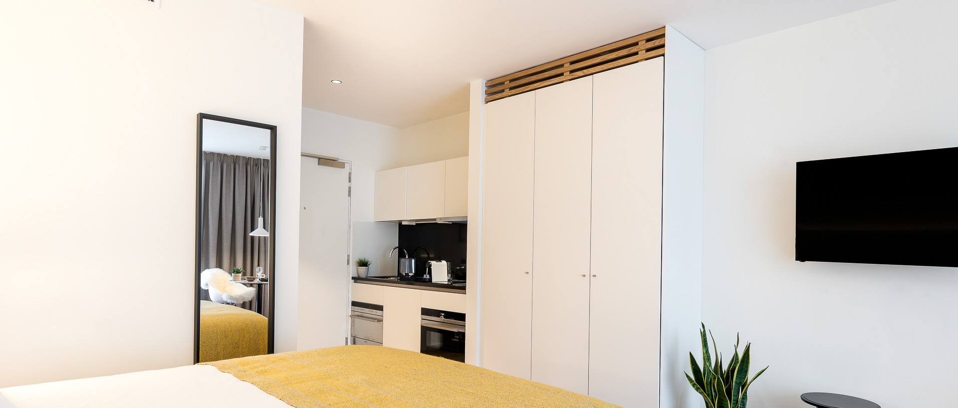 Penthouse studio with kitchenette at  PREMIER SUITES PLUS Antwerp