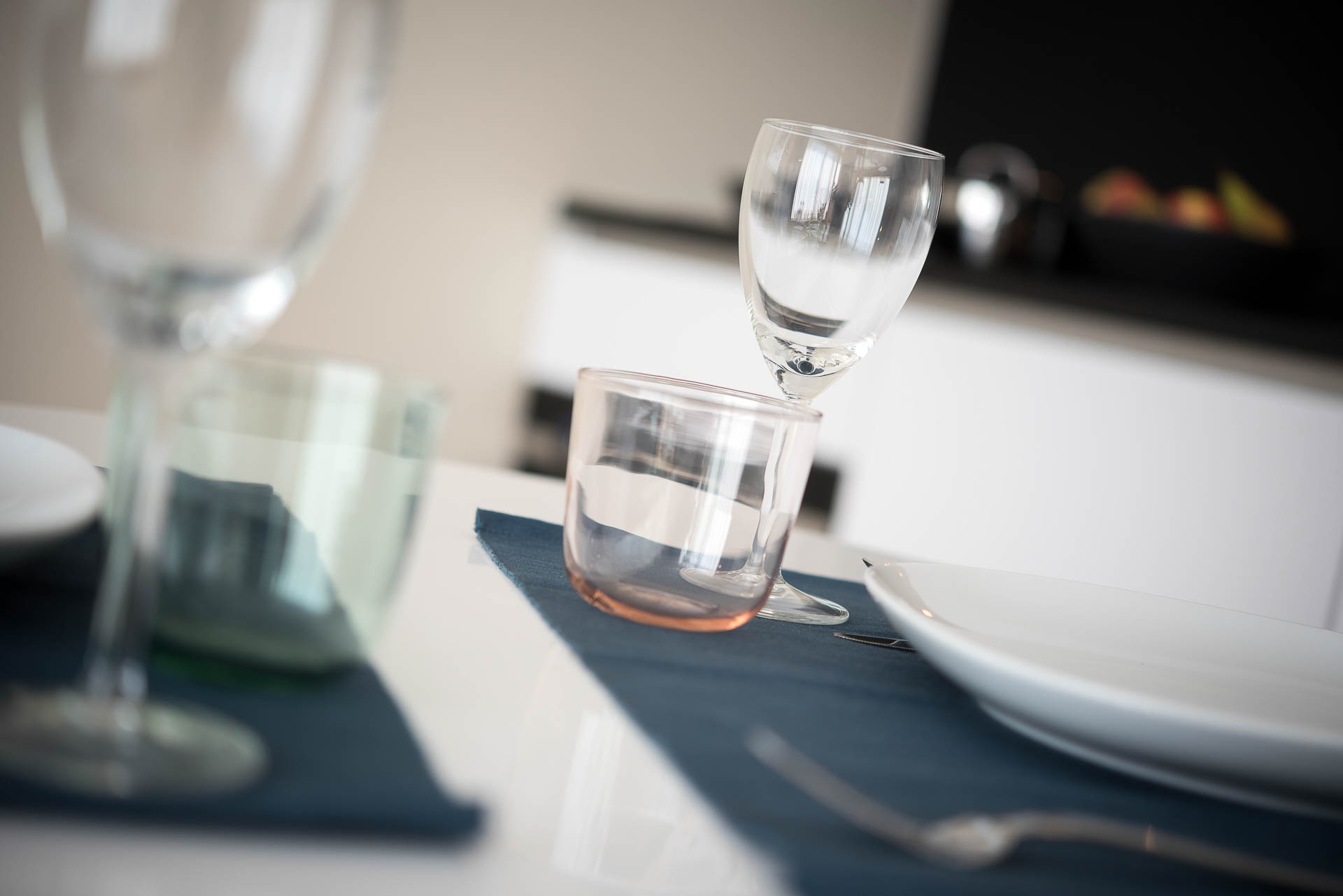 Glassware at PREMIER SUITES Antwerp