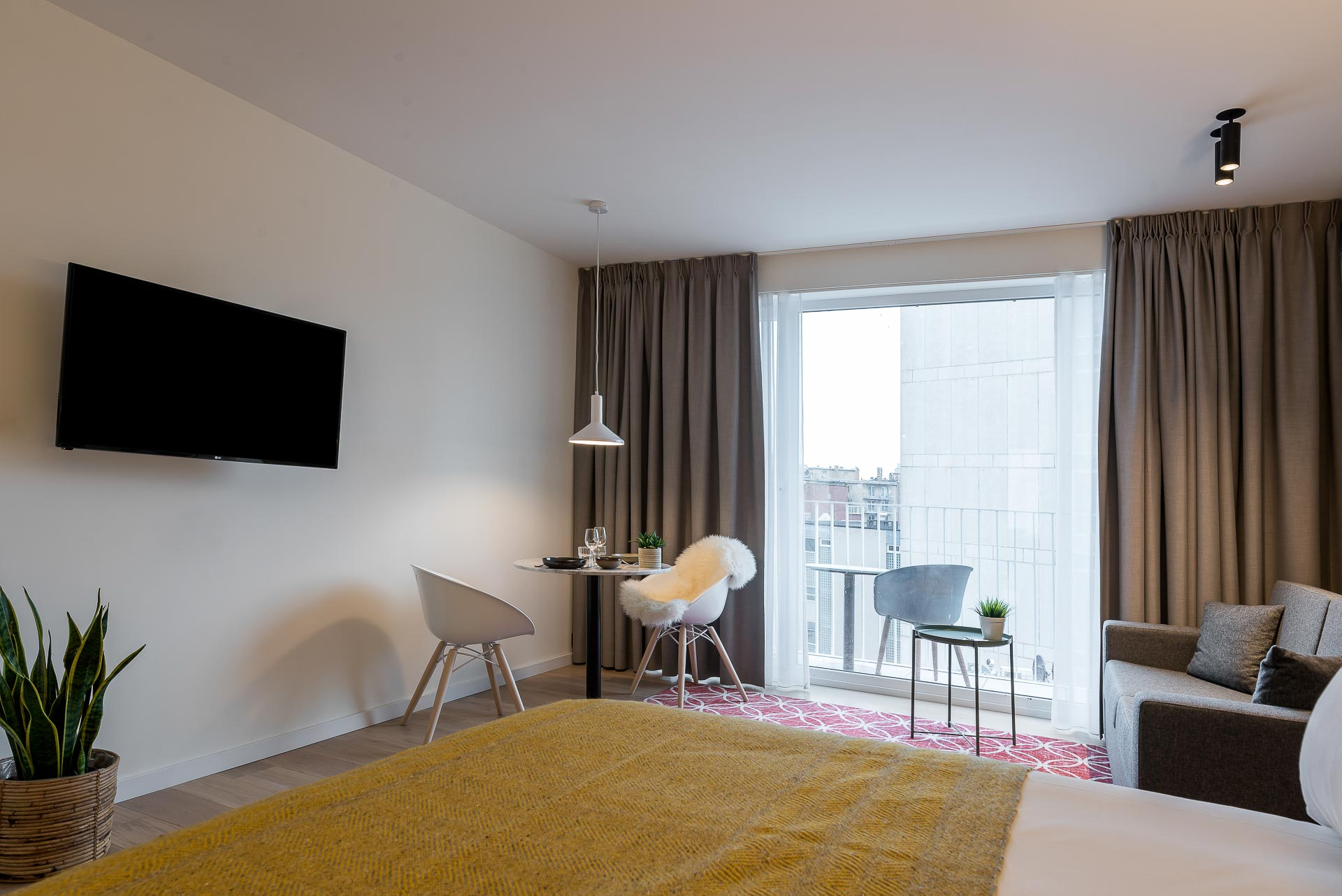 Penthouse Studio with terrace PREMIER SUITES PLUS Antwerp