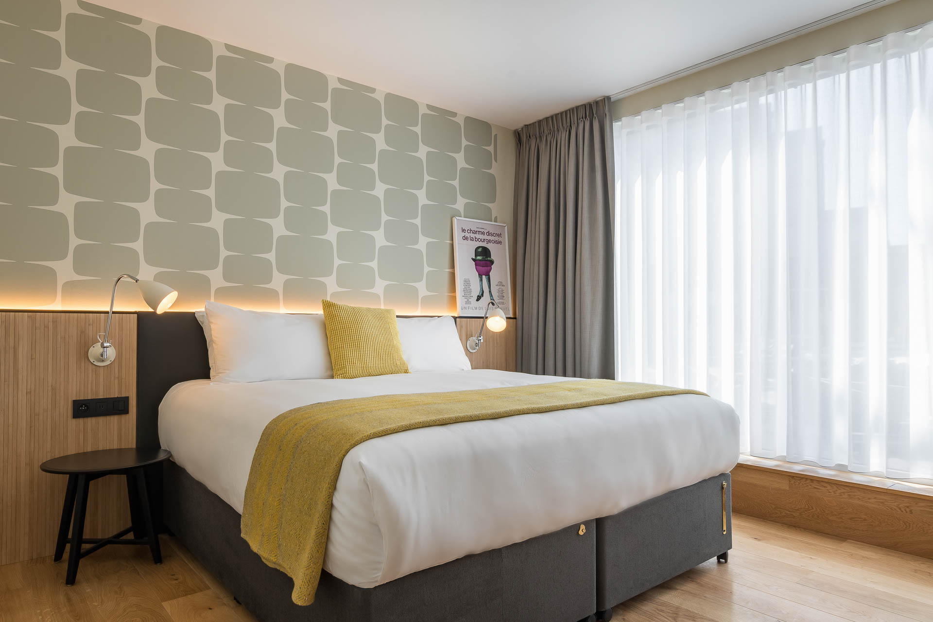 Luxury suite room at PREMIER SUITES Antwerp