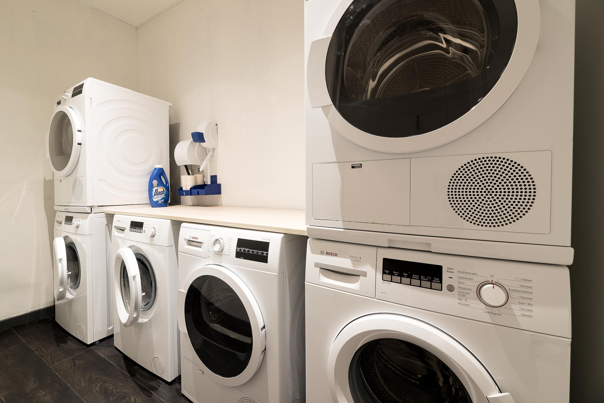 Washing machines at PREMIER SUITES PLUS Antwerp