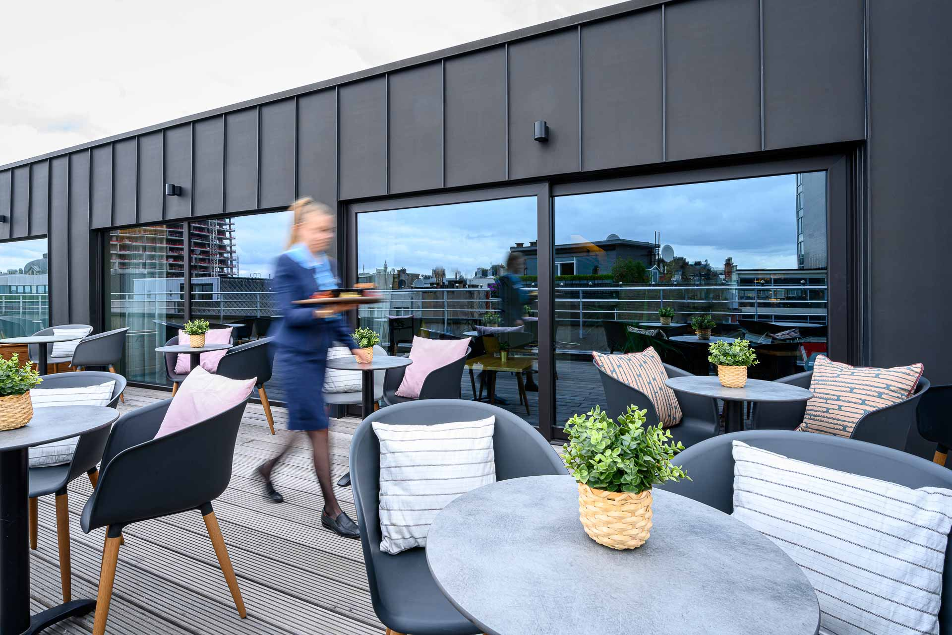 Rooftop Terrace in Antwerp