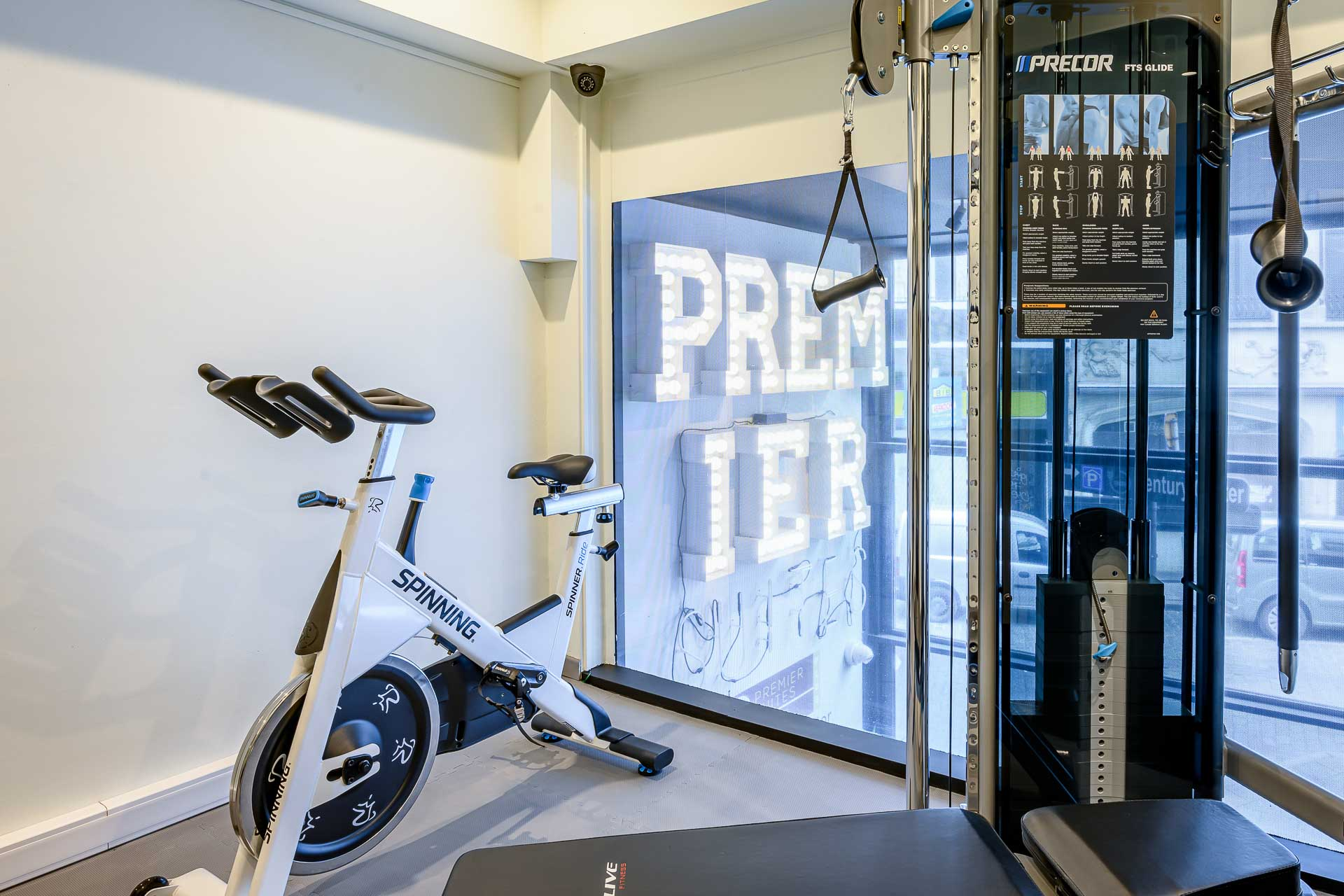 Hotel with fitness in Antwerp