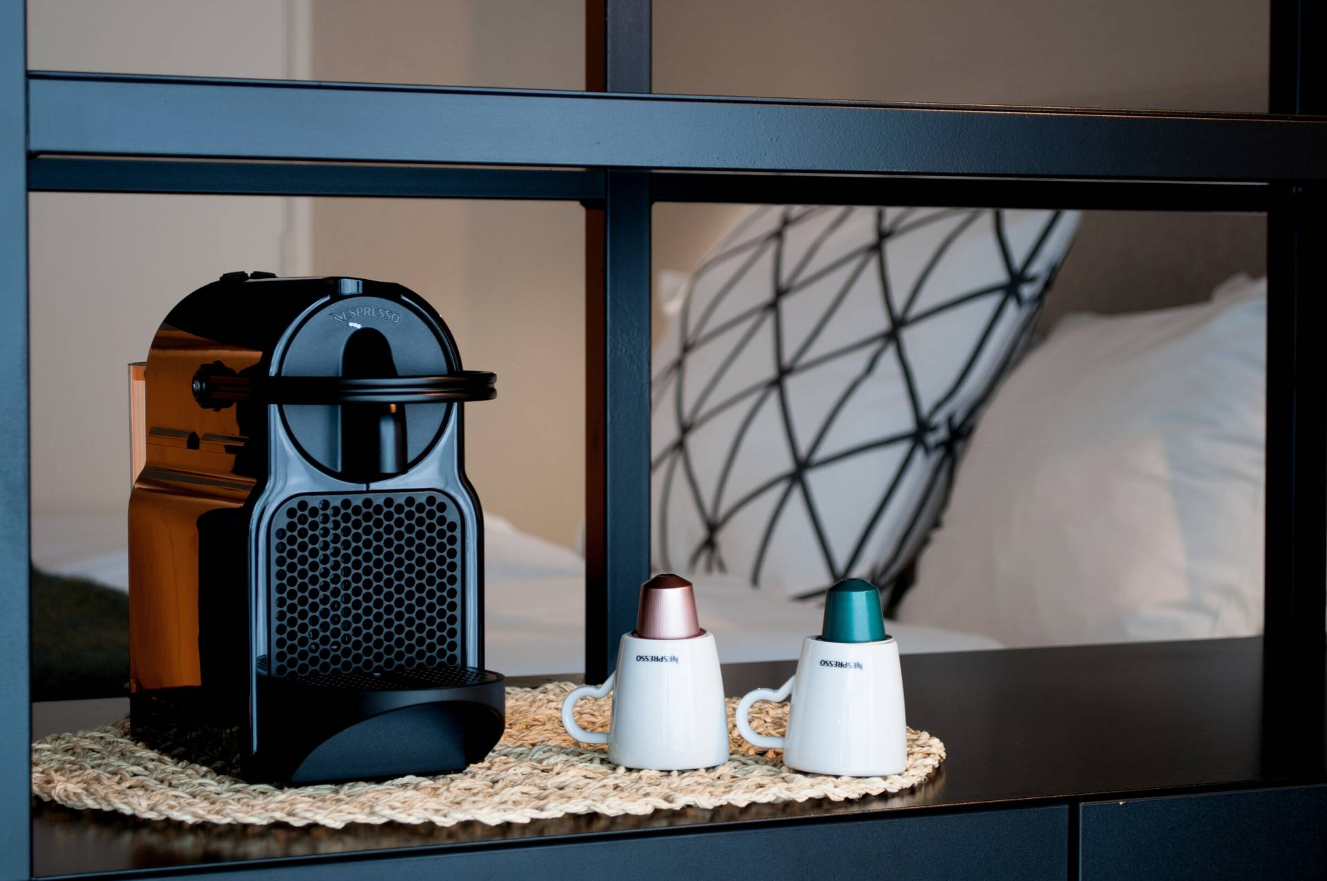Nespresso Machine in Deluxe Room Antwerp