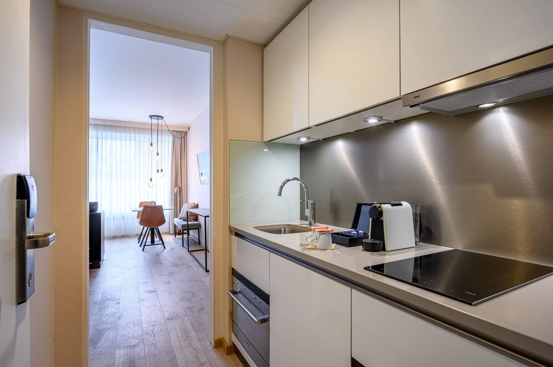 Kitchen in Executive Twin Room